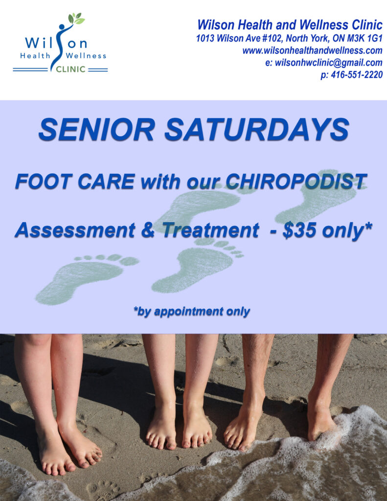 affordable foot care for seniors. senior discount foot care.