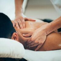 deep tissue massage, upper back